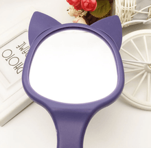 Load image into Gallery viewer, Senshi Moon Luna Cat Mirror