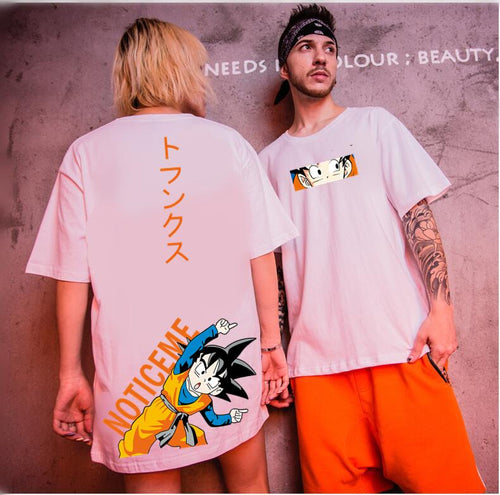 [Buy 2 Get 20% OFF]Goku Cartoon Printed Couple T-shirt