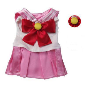 Senshi  Moon Pet Clothes Suit Costume Customization Dog Cat