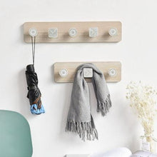 Load image into Gallery viewer, Wooden Hooks, Creative Door Shelving