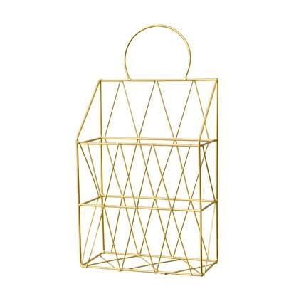 Ins Iron Hanging Basket ,Wall Decoration, ,Multifunctional Storage Basket