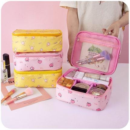 Portable Large Capacity Multifunctional Cosmetic Bag