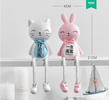 Load image into Gallery viewer, Cartoon & Decoration Hanging Legs Doll