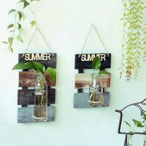 Creative  Hydroponic Vase For Wall Decoration