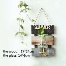 Load image into Gallery viewer, Creative  Hydroponic Vase For Wall Decoration