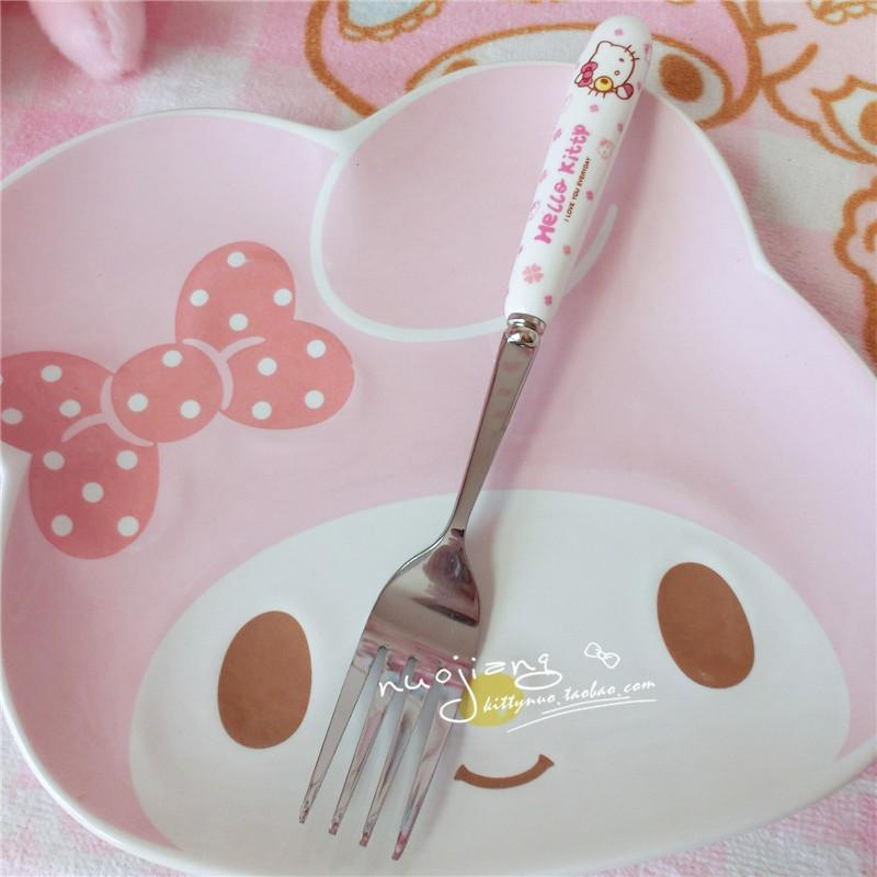 Stainless Spoon & Fork