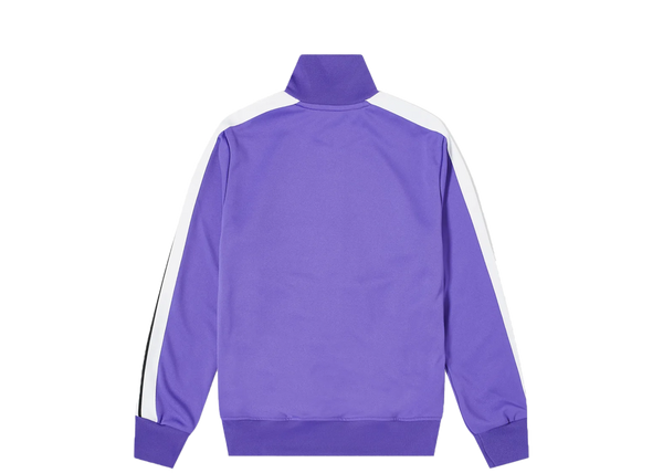 Purple & White PALM ANGELS TAPED TRACK JACKET