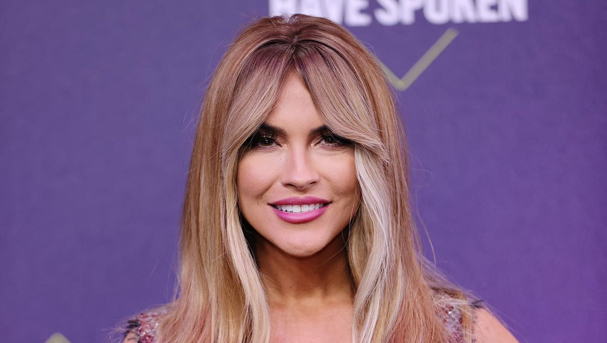 'Selling Sunset' Star Chrishell Stause Rocks Curtain Bangs at the 2020 People's Choice Awards — Get All the Details on the Look!