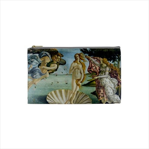 The Birth Of Venus Botticelli Art Cosmetic Trinket Zippered Pouch Bag