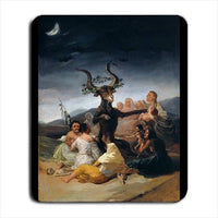 Witches' Sabbath Goya Art Computer Mat Mouse Pad