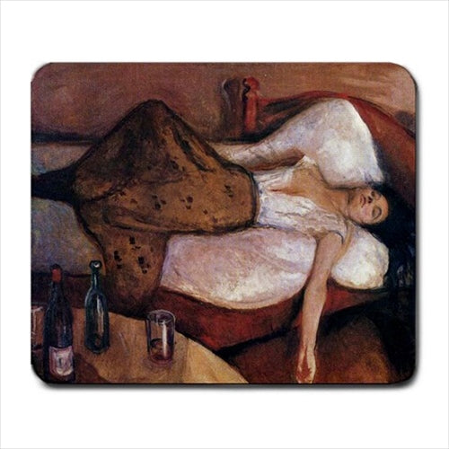 The Day After Edvard Munch Art Computer Mat Mouse Pad