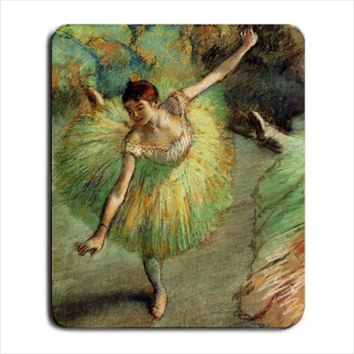 Dancer Tilting Edgar Degas Art Computer Mat Mouse Pad