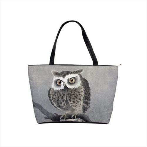 Owl In Tree Bird Art Shoulder Bag