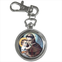 St Anthony Patron Saint Key Chain Watch