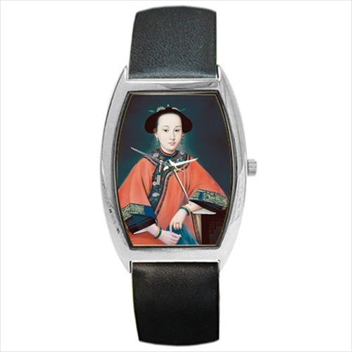 Fragrant Concubine Art Barrel Style Wristwatch Unisex Watch