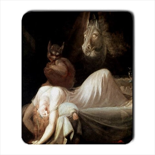 The Nightmare Henry Fuseli Art Computer Mat Mouse Pad