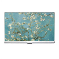 Almond Blossoms Van Gogh Art Business Credit Card Holder Case