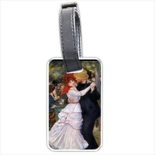 Dance at Bougival Renoir Art Personalized Luggage Tag