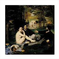 Edouard Manet The Luncheon On The Grass Art Ceramic Tile