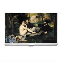 Edouard Manet The Luncheon on the Grass Art Business Credit Card Case