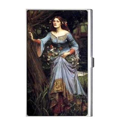 Ophelia In The Woods Waterhouse Art Business Credit Card Case Holder