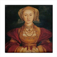 Queen Anne Of Cleves Henry V Wife Holbein Art Decorative Coaster Ceramic Tile