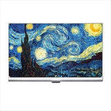 Starry Starry Night Van Gogh Art Business Credit Card Holder Case