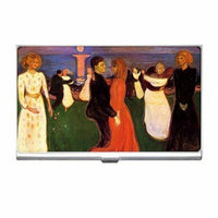 The Dance Of Life Edvard Munch Art Business Credit Card Case  Holder