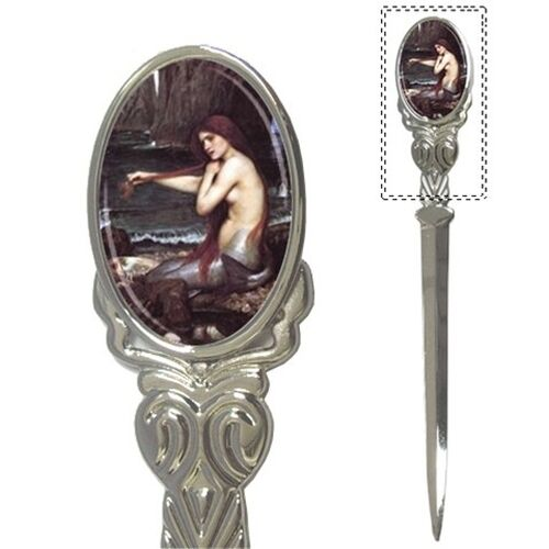 The Mermaid John William Waterhouse Art Mail Letter Opener