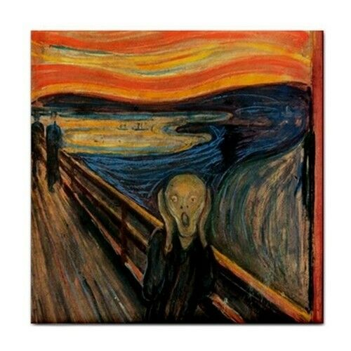 The Scream Edvard Munch Art Ceramic Tile