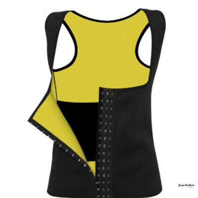 Neoprene ShapeWear Vest: Tummy Girdle/Waist Cincher - Shape My Waist