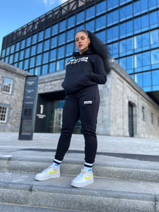 Women's Black Tracksuit