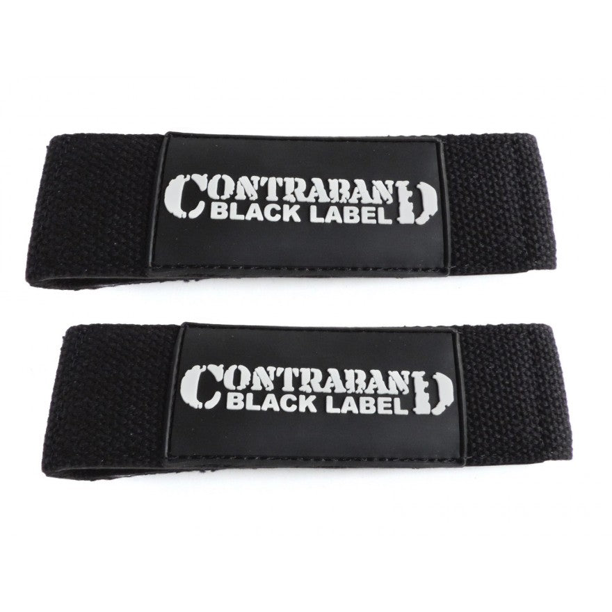 Contraband Black Label 2000 Padded Cotton Lifting Straps