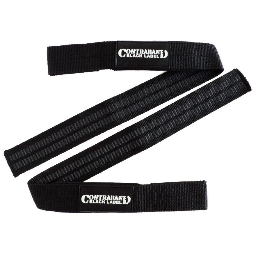 Contraband Black Label 2050 Padded Rubber Threaded Nylon Straps