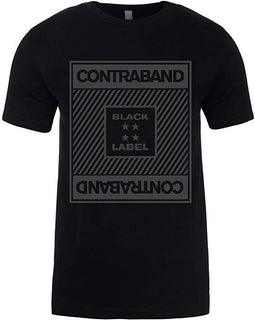 Contraband Black Label 10030 Lines Mario Esco Series Mens/Unisex T-Shirt
