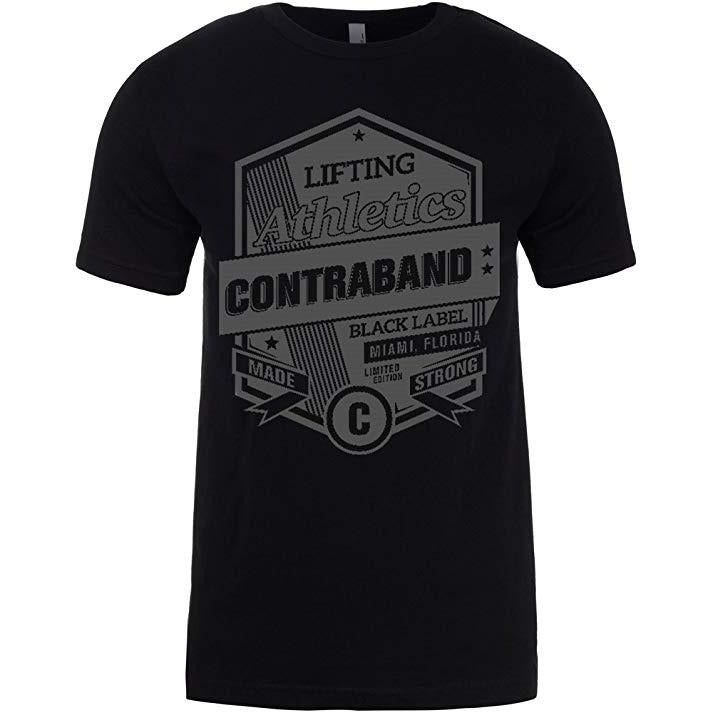 Contraband Sports 10049 Contraband Athletics Mens/Unisex T-Shirt