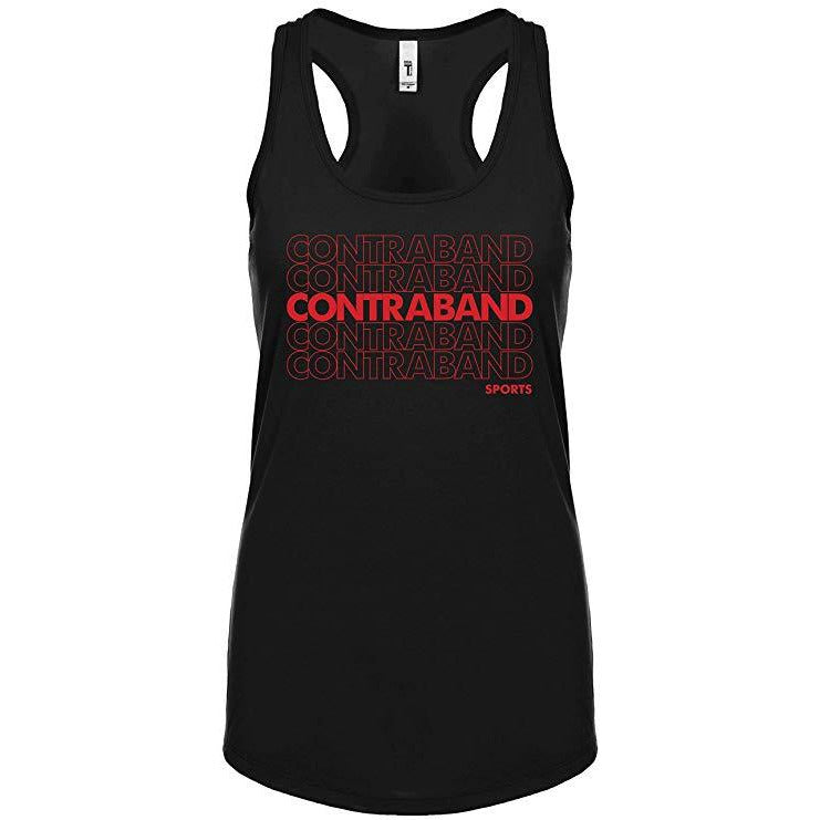 Contraband Sports 10299 Classic Bag Design Womens Racerback Tank Top
