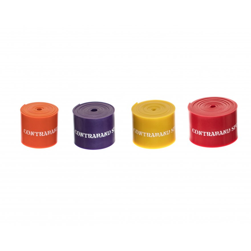 Contraband Sports 7459 Floss Bands 7ft x 2in