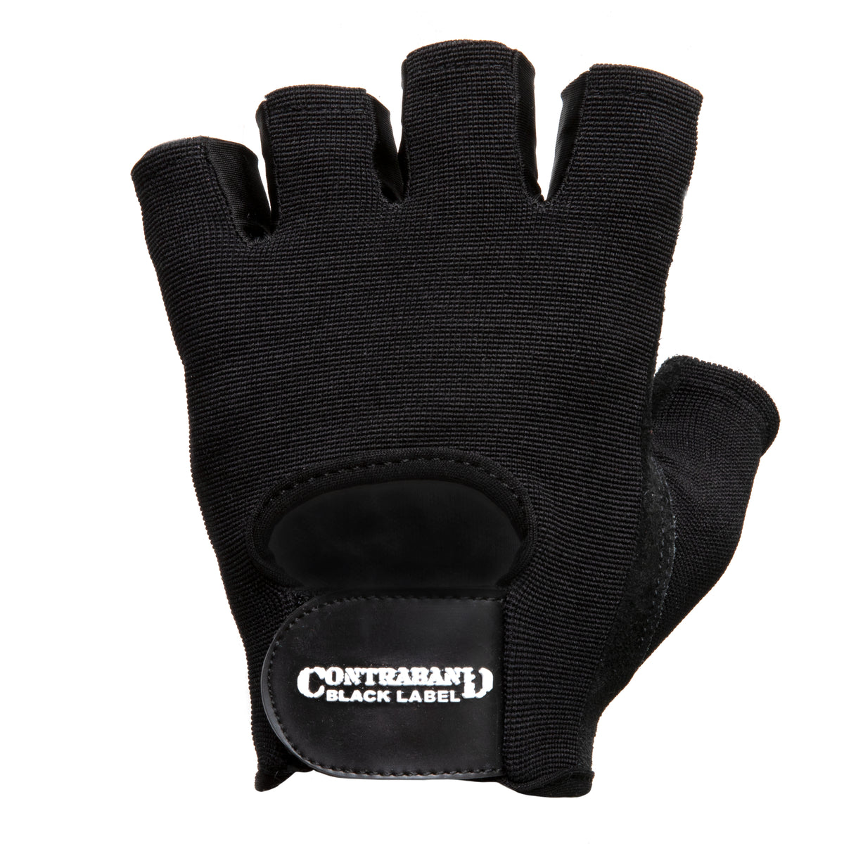 Contraband Black Label 5450 Heavy Duty Double Layer Gel Padded Leather Weight Lifting Gloves