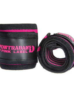 Contraband Pink Label 1007 Wrist Wraps in Light/Medium/Heavy Strength