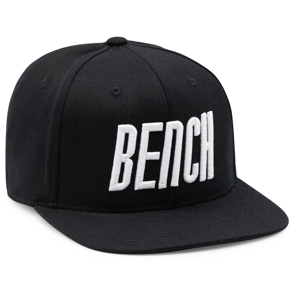 Contraband Sports 12109 BENCH 3D Puff Embroidered Logo on Flexfit 110F Flat Bill Snapback
