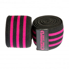 Contraband Pink Label 1067 Classic Knee Wraps (PAIR)