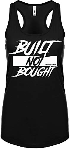 Contraband Sports 10219 Built Not Bought Womens Racerback Tank Top
