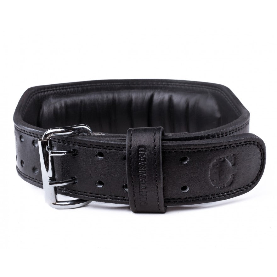 Contraband Black Label 4340 4in Top Grain Padded Leather Belt