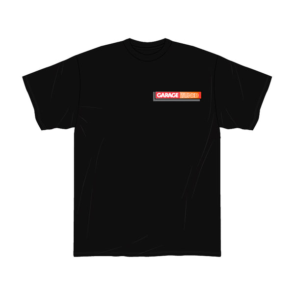 Orange Crush AE86 Black Tee