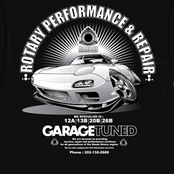 Rotary Performance And Repair Black Tee