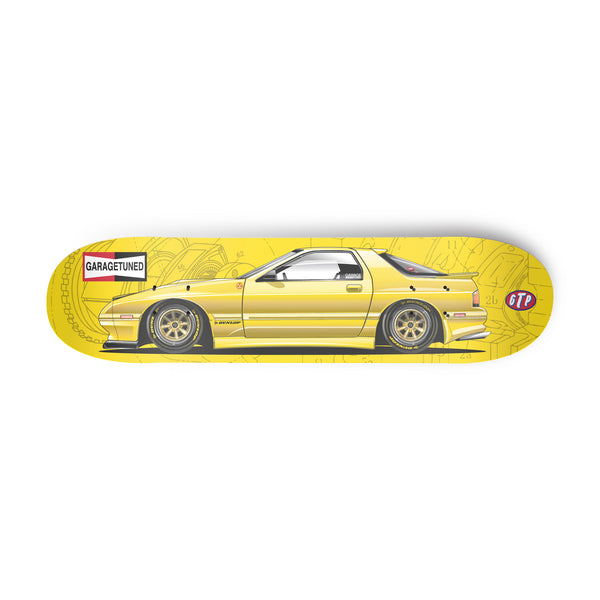 Yellow FC Rx7 Skate Deck