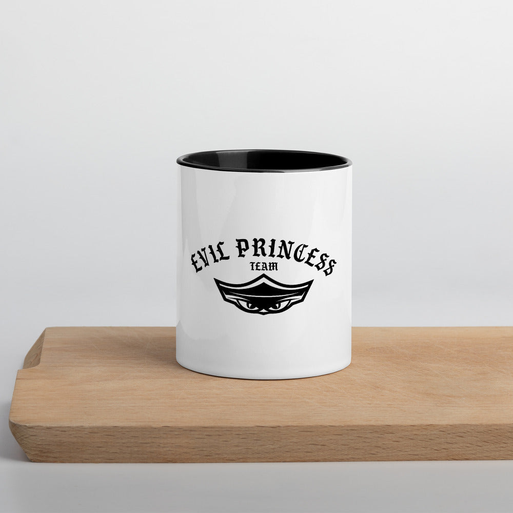 Evil Princess Mug with Color Inside