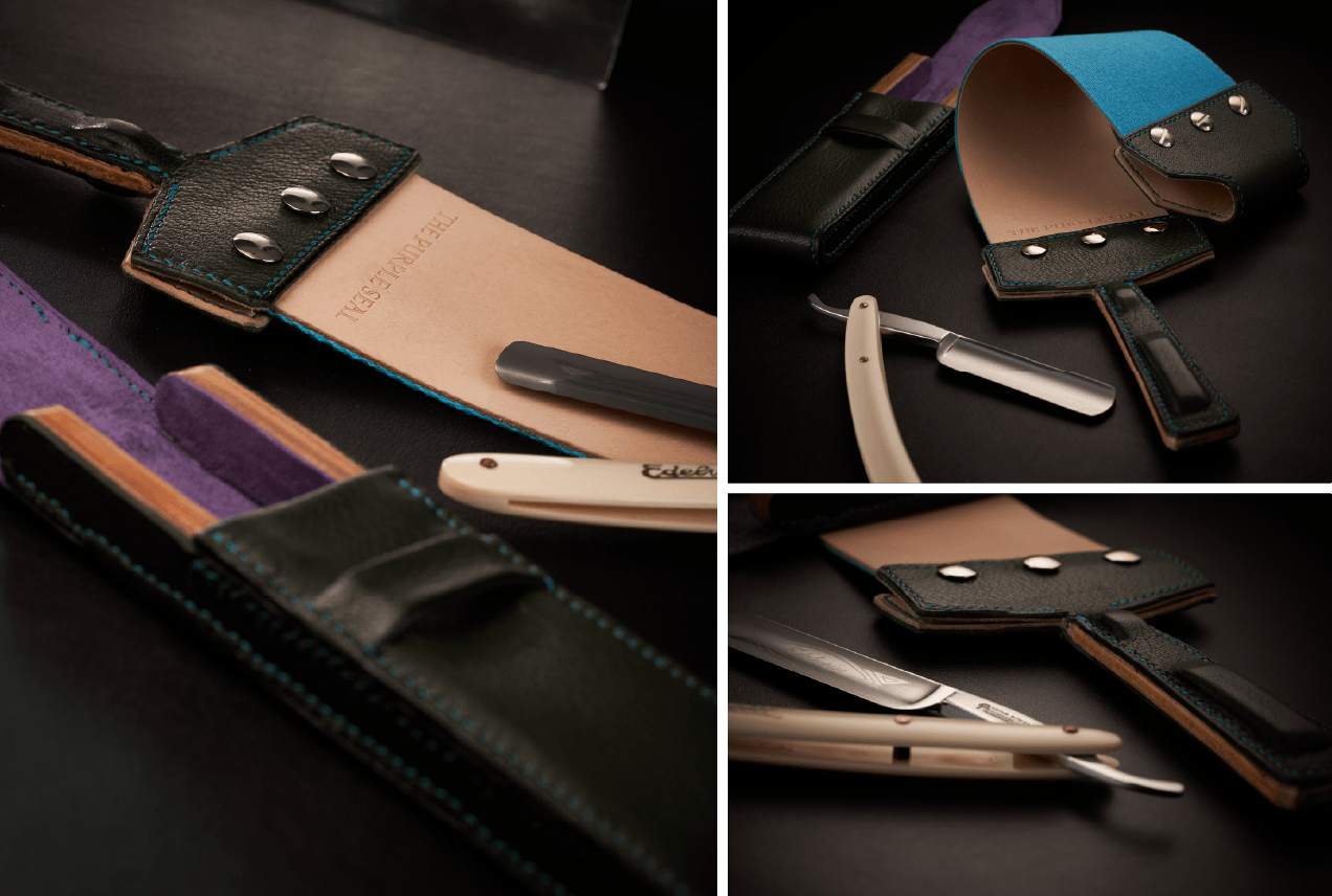 The Purple Seal bespoke leathergoods made in United Kingdom