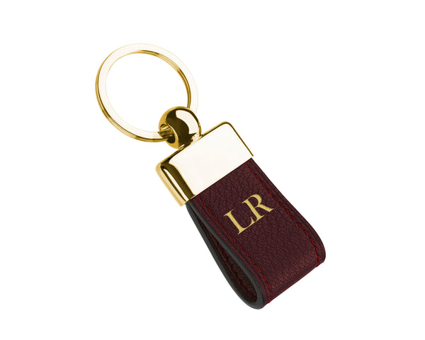 Bordeaux - Custom Goat Leather Key Holder
